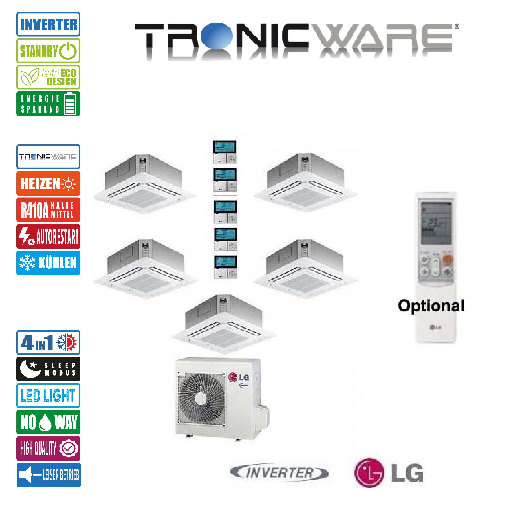 Inkl montage lg klimaanlage multi system au eneinheit for Klimaanlage inkl montage